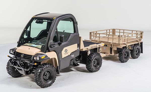 IAS MACH-1 Utility Vehicle with Trailer