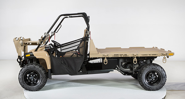 IAS MACH-2XL Utility Vehicle Driver's Side View